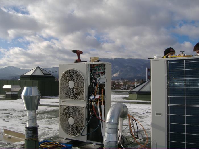 Uruchomienie klimatyzacji